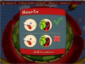 paddle trouble screenshot