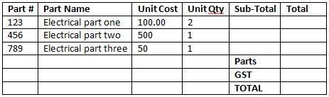 basic table 1