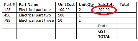 basic table product 1