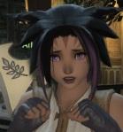 FFXIV emotes - Meeka is shocked