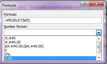 how to add numbers on left side in word