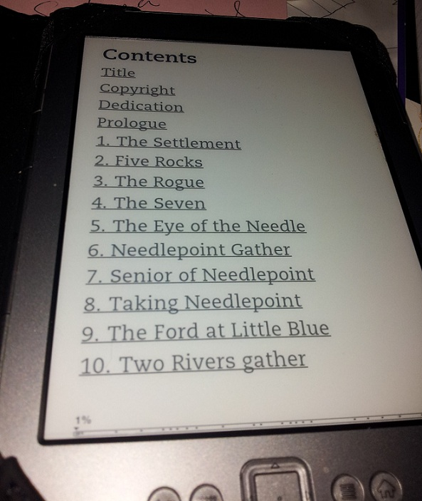table of contents 015