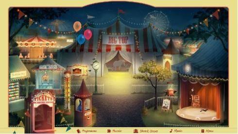 balloon game circus