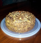 low carb hazelnut cake