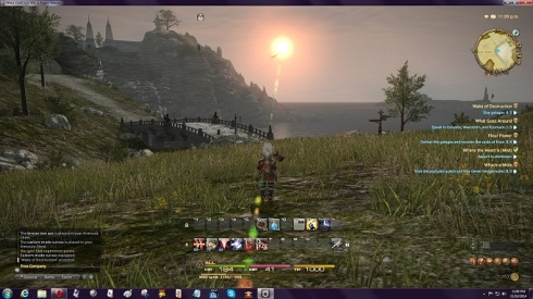 ffxiv coco and sunset