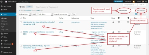 wordpress interface search 1