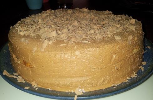 christmas 2014 cake 1