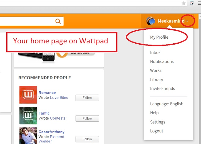 How to link to your story on Wattpad | Meeka's Mind