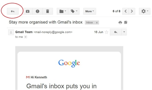 gmail email body all