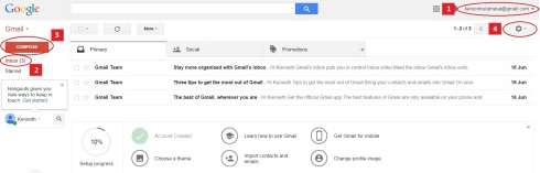 gmail homepage 1 B