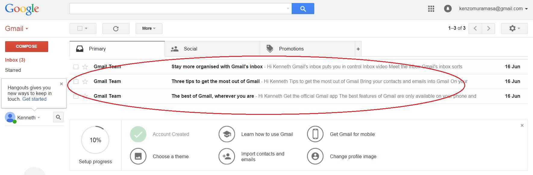 gmail homepage 1