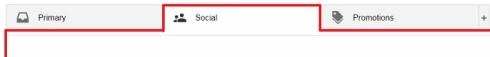 gmail social tab