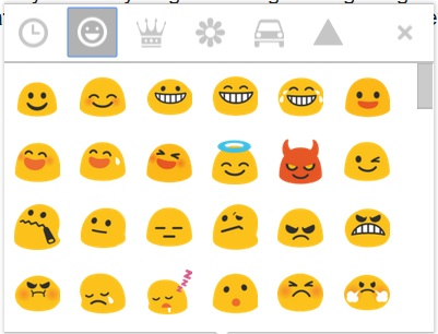 6 gmail compose emoticons