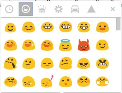 6 gmail compose emoticons