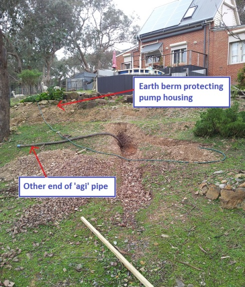 warrandyte earth berm end