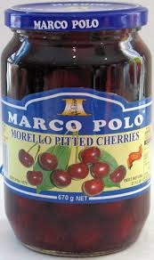 morello cherries jar