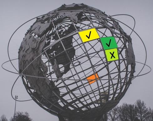 globe wireframe