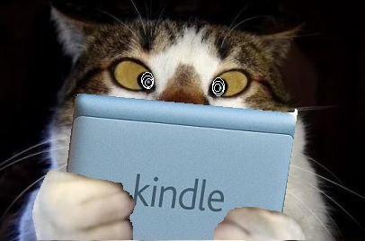 cat eye spinning kindle