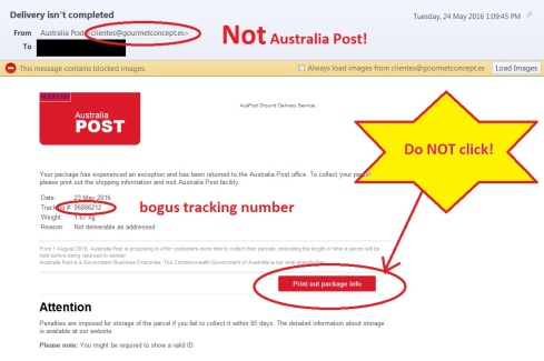 USPS and AUS POST? Whose fault?