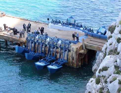 Wavepower in Gibraltar
