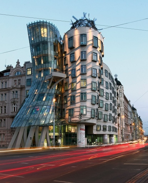 Dancing house prague 1