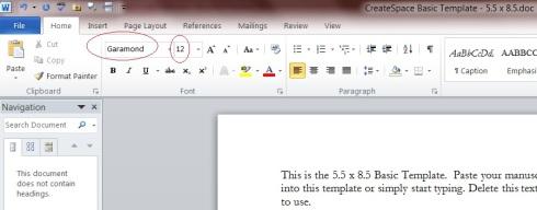 Self-publishing via Word and Createspace – page setup | Meeka\'s Mind